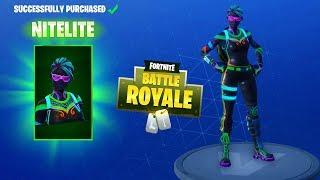 FORTNITE DAILY SKIN RESET - NITELITE & LITESHOW!! Fortnite Battle Royale NEW Items in Item Shop