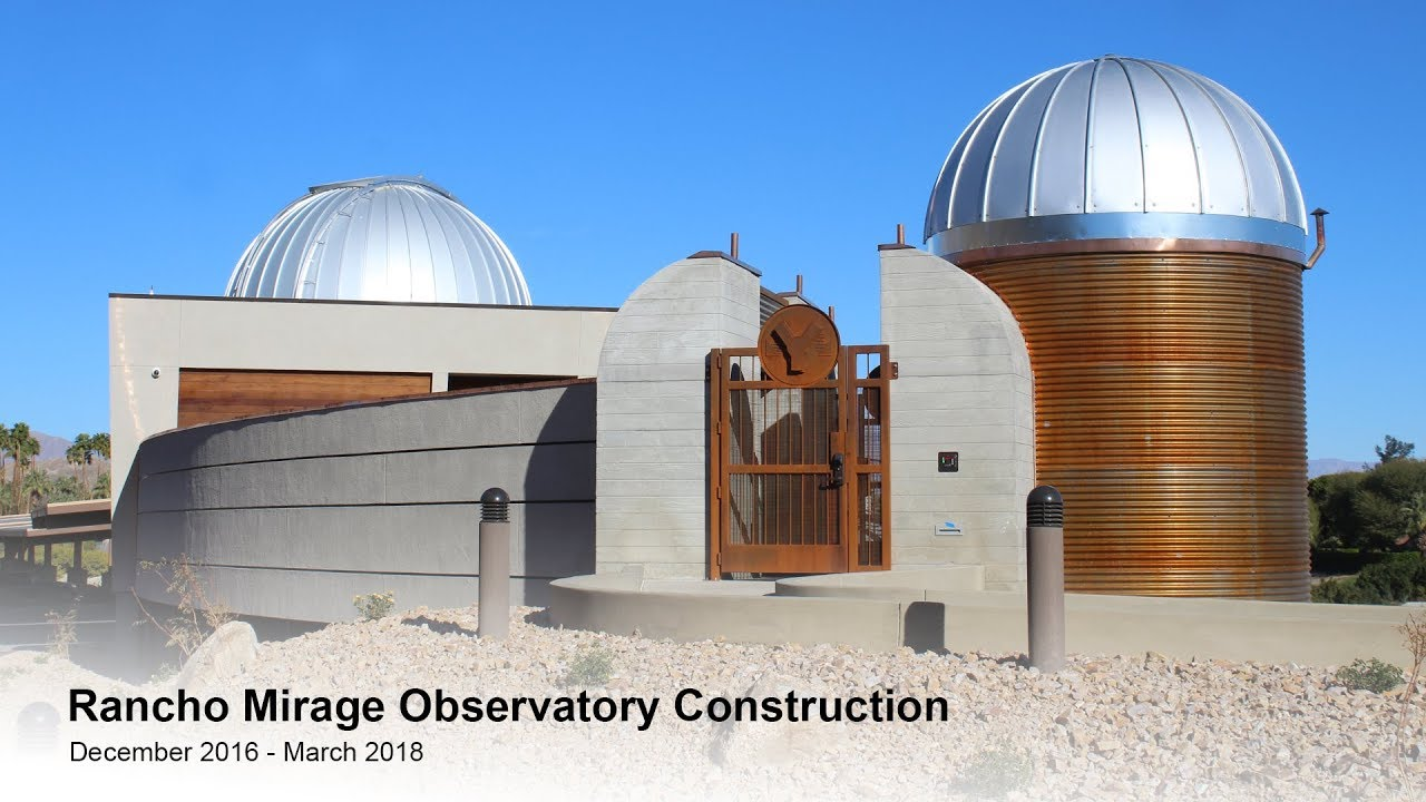 Rancho Mirage observatory sets a new course for the stars