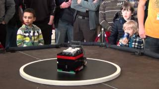 RobotChallenge 2012 - Lego Sumo Winner