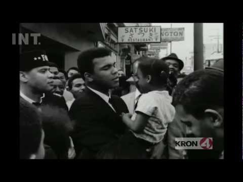 Boxing champ Muhammad Ali on Fillmore Street (1967) - from THE EDUCATION ARCHIVE