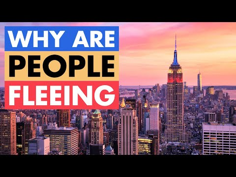 Why People Are Fleeing New York - Fastest Shrinking State