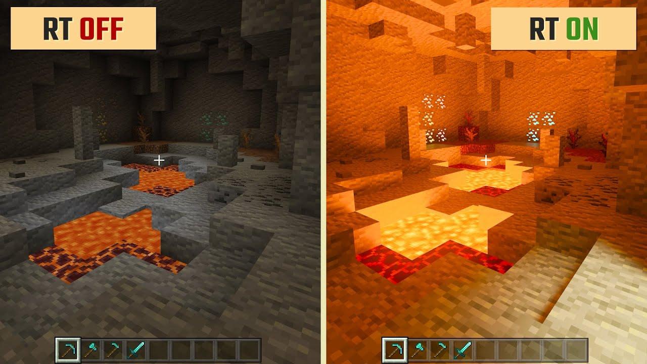 Rtx minecraft Minecraft 1.16