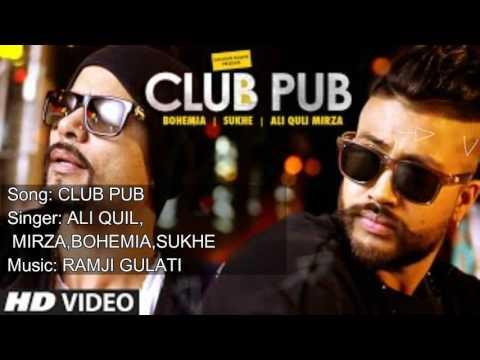CLUB PUB LYRICAL SONG