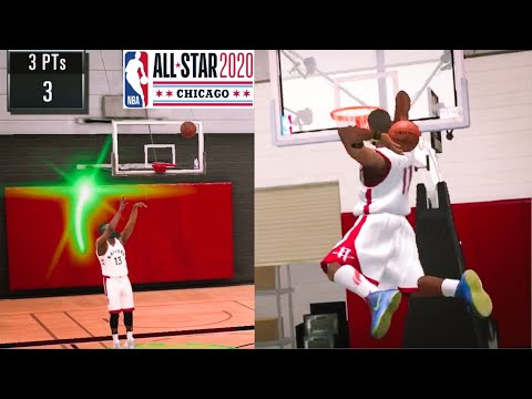 NBA 2K20 Mobile My BigCareer EP 9 - All Star Three Point & Dunk Contest Mode?!!
