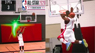 NBA 2K20 Mobile My bigCareer - All Star Three Point & Dunk Contest Mode?!!