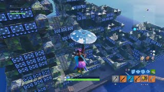 WE BROKE FORTNITE BATTLE ROYALE WITH PORTAFORTRESS