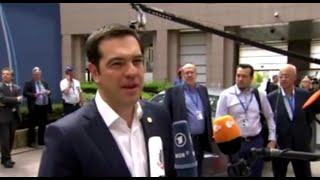 Άφιξη στη Σύνοδο Κορυφής - Arrival at the European Council