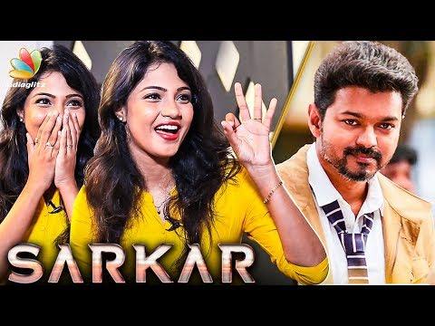 Lucky That I Play a FAN  GIRL in Sarkar : Vaishali Interview | Vijay 62 Movie | Raja Rani Serial