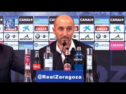 Presentación oficial del nuevo entrenador Ranko Popovic - 25/11/2014