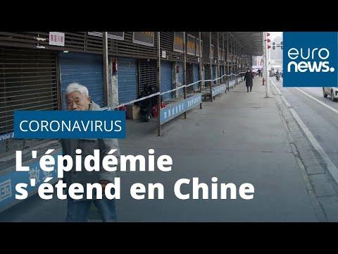 Coronavirus en Chine: un troisième cas mortel, l'épidémie s'étend