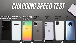 2020 Smartphone Fast Charging Speed Test: All Flagships Compared!