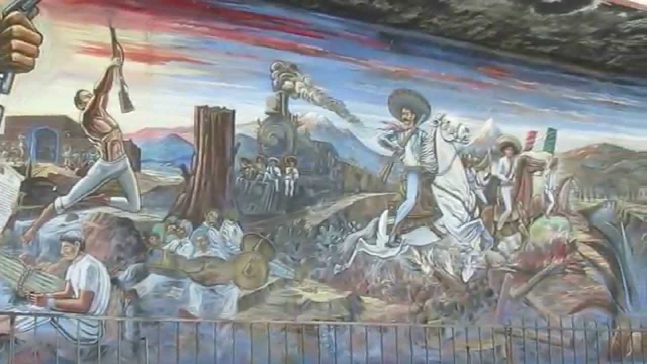 Anenecuilco edo morelos m xico 39 39 museo casa de zapata for Emiliano zapata mural