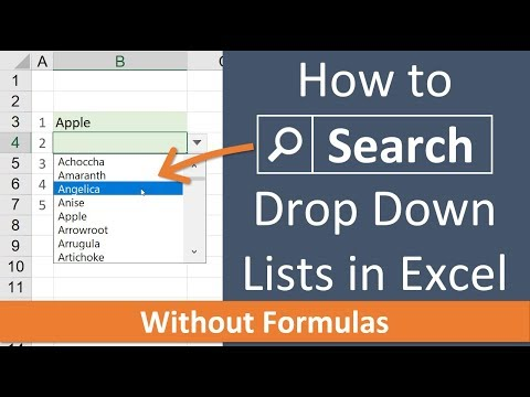 how to add in drop down list in excel