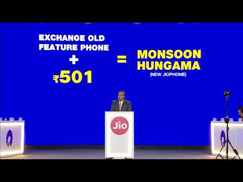 JIO Phone at Rs 501 With Jio Monsoon Offer and Jio Phone 2  ! Jio Phone 2 Jio Monsoon Hungama Offer