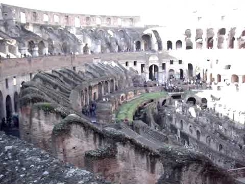 Germany-Rome-Egypt-Turkey: Colosseum Rome 120509.MPG