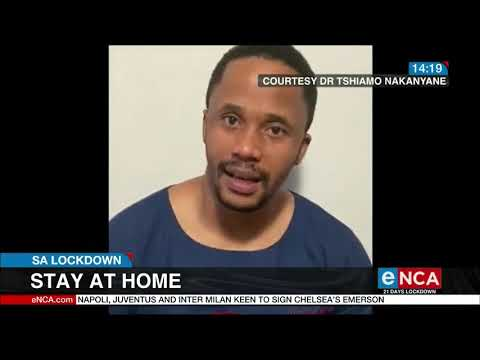 Stay At Home: South African Medical Practitioners Plead