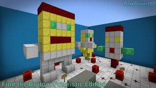 FUTURISTIC Find the Button Map in Minecraft: Pocket Edition!