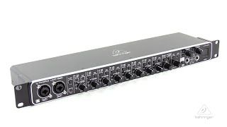 U-PHORIA UMC1820 Audiophile 18x20, 24-Bit/96 kHz USB Audio/MIDI Interface