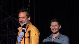 Jeffrey Dean Morgan Full Panel VegasCon 2015 Supernatural