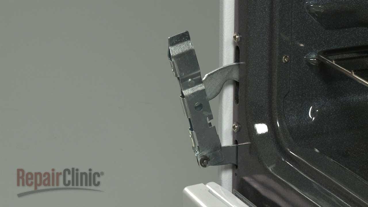 Wall Oven Wiring Diagram Ge Gas Range Oven Door Hinge Replacement Wb10k12 Youtube