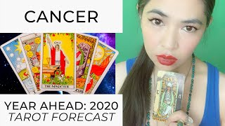 YEAR AHEAD 2020:  CANCER (LIVE TAROT READING) by RJ Marmol | TheWokeWay.org