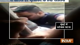 Boy Falls Off Running Local Train in Mumbai, Incident Caught on Camera