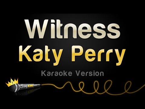 Katy Perry - Witness (Karaoke Version)