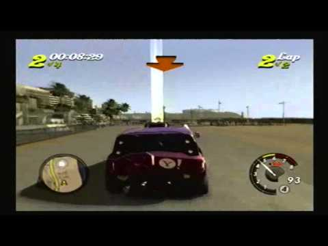 L.A. Rush PS2: Santa Monica Street Race 2