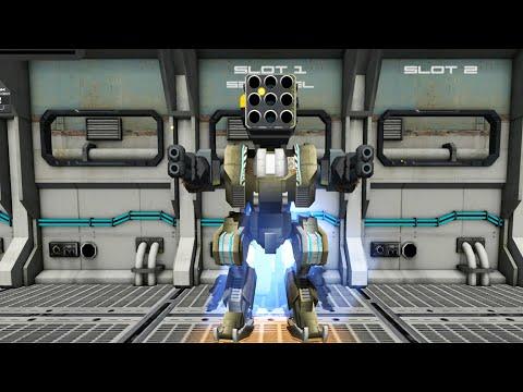 Mech Battle Robots War Game Gameplay Walkthrough Part 1 (IOS/Android)