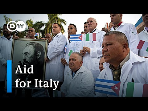 Coronavirus in Italy: Cuba, China and Russia send send medical aid   DW News