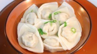Chinese Chicken Wonton Soup Recipe /雞湯餛飩/雲吞