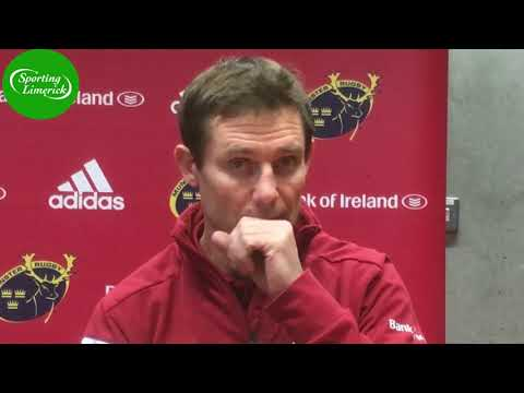 Stephen Larkham on Munster's Pro14 clash with the Southern Kings