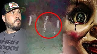 Terrifying Ghost Woman Caught On Camera (Annabelle Cemetery)