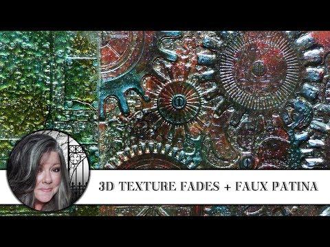 🖌🔧3D Texture Fades + Faux Patina 🔧🖌