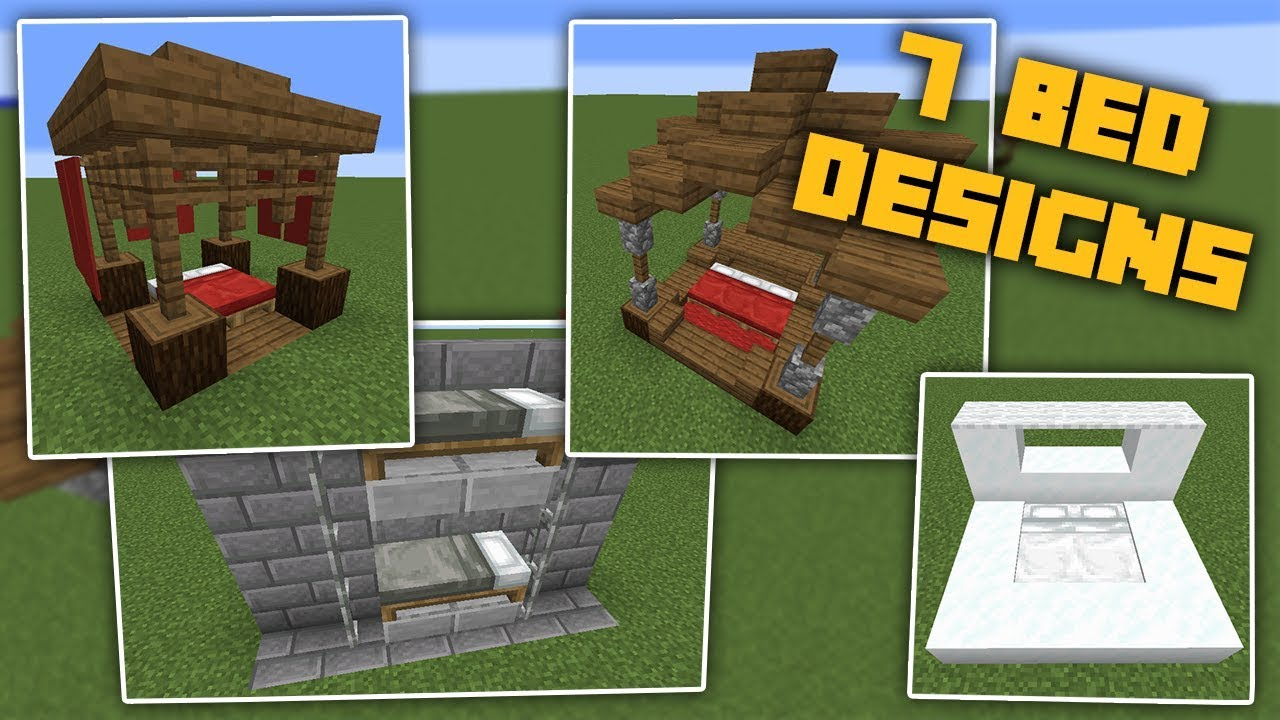 7 Minecraft Bed Designs You