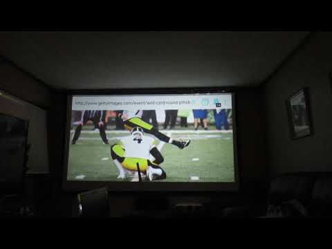 Optoma HD141X  home theater projector set up