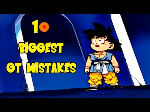 10 Mistakes In Dragon Ball GT