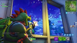 T-REX SKIN CLIPS! Funny & epic troll moment on Fortnite Battle royale!