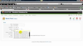 Joomla 1.5 Tutorial - You Tube RSS explained and implemented in the Joomla 1.5 CMS