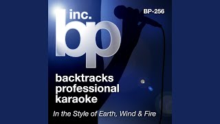 After The Love Has Gone (Karaoke Instrumental Track) (In the Style of Earth, Wind and Fire)