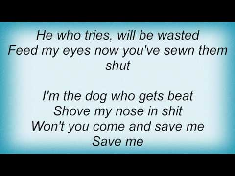 Alice In Chains - Man In The Box Lyrics