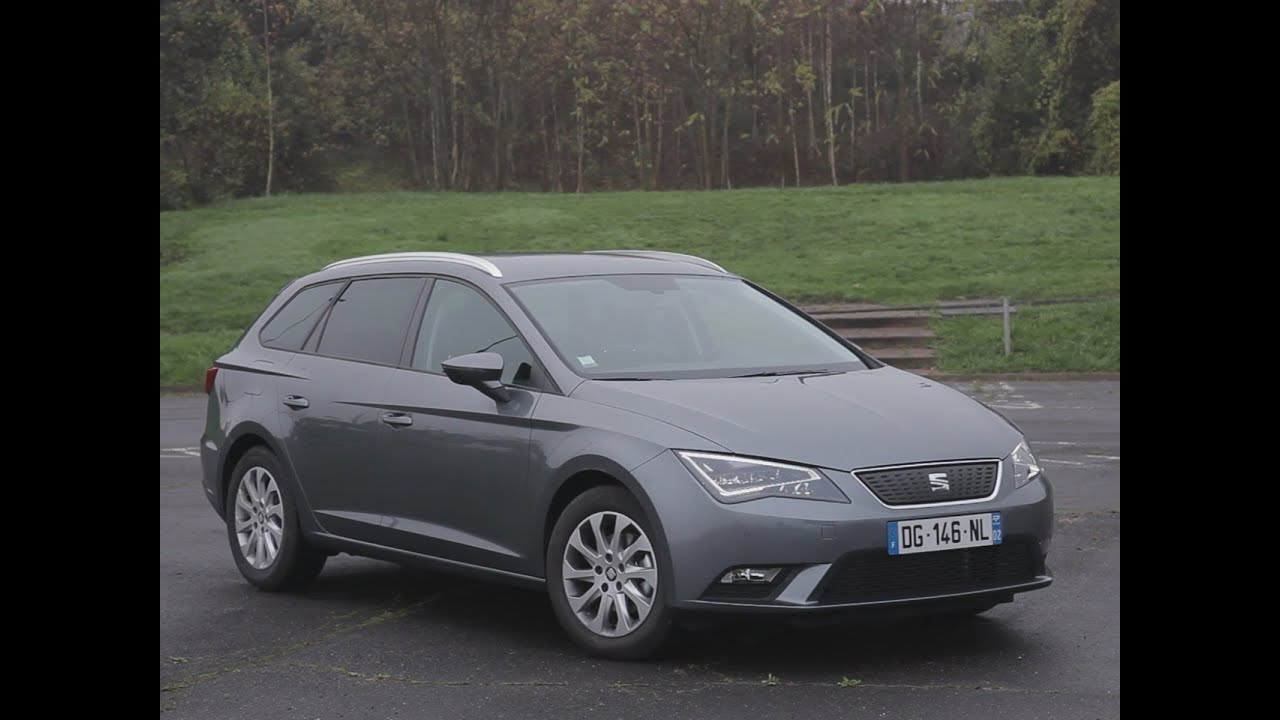 essai seat leon st 1 6 tdi 110 ecomotive style 2014 youtube. Black Bedroom Furniture Sets. Home Design Ideas
