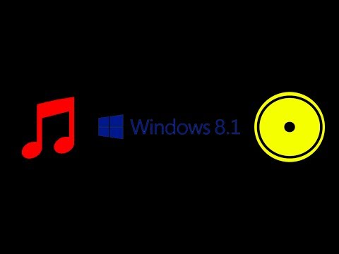 Windows 8.1 Guide : How to burn music files to CD (2014)
