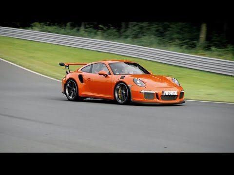 Behind the wheel of the 911 GT3 RS with Walter Röhrl
