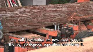 See A Portable Sawmill In Action