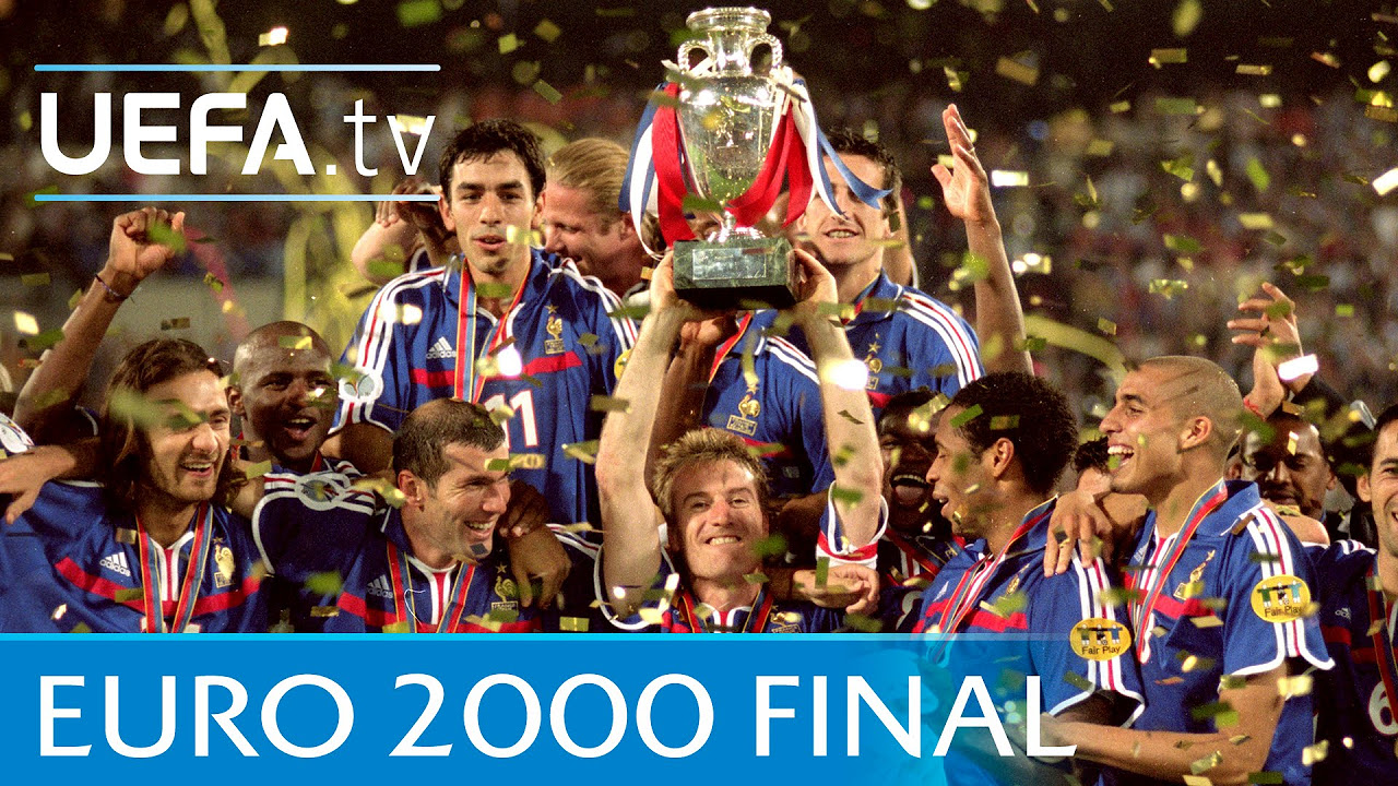 UEFA EURO 2004 final: Greece 1-0 Portugal highlights
