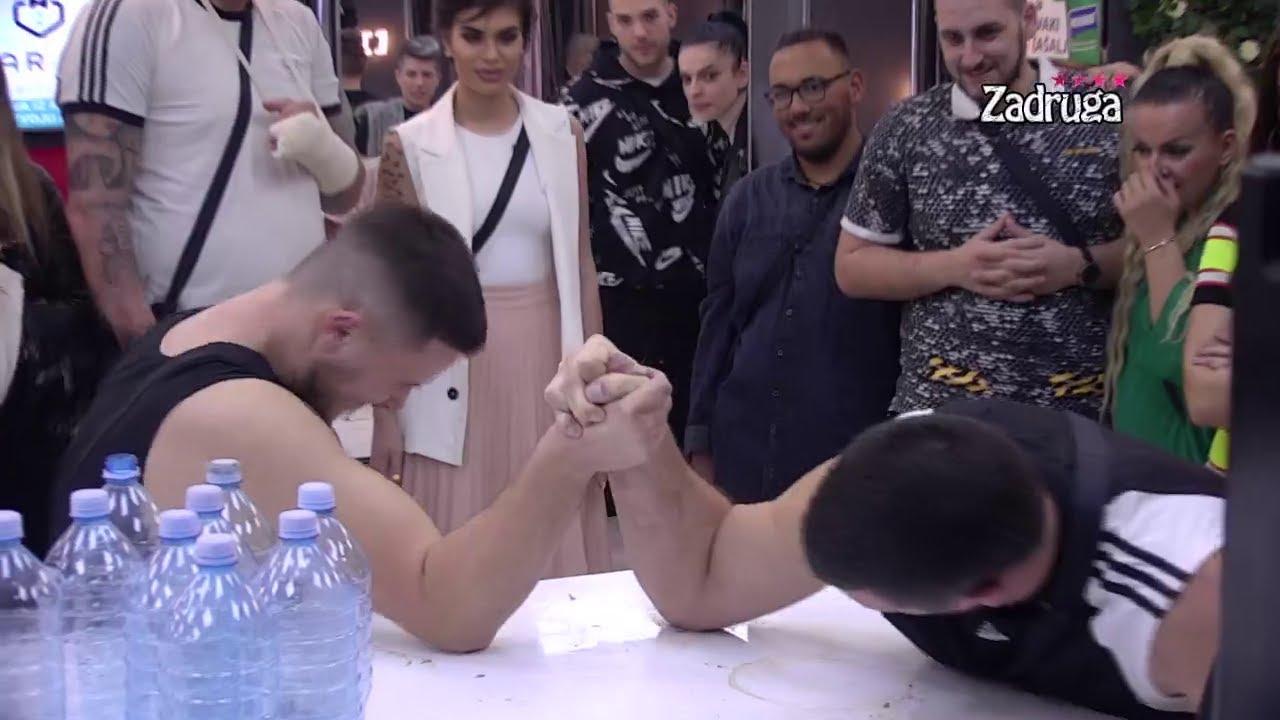 Download Zadruga 4 - Tomović i Danijel obaraju ruke, palo i pomirenje - 07.02.2021.
