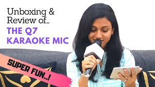 Unboxing & Review of Q7 Karaoke Mic