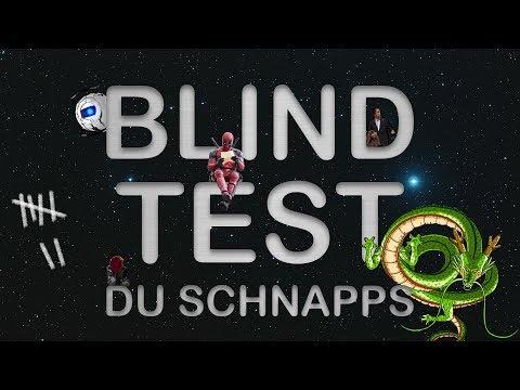 Blind Test du Schnapps (81 Fims, Séries, Jeux, Animes, Dessins animés)