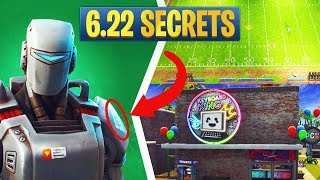 Fortnite 6.22 Secrets: Hunting Party Mystery, Map Changes, PCB Challenges, & More